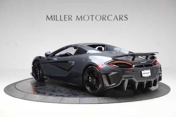 Used 2020 McLaren 600LT Spider for sale Sold at Pagani of Greenwich in Greenwich CT 06830 16