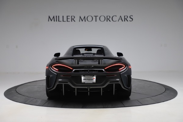Used 2020 McLaren 600LT SPIDER Convertible for sale $249,900 at Pagani of Greenwich in Greenwich CT 06830 17
