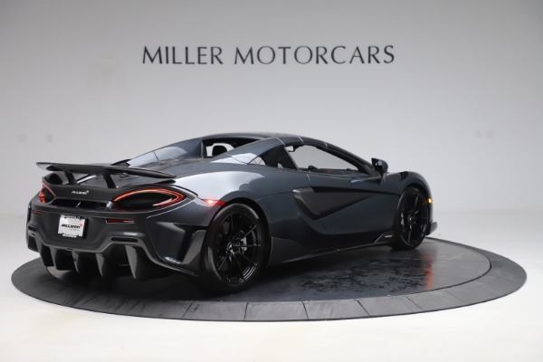 Used 2020 McLaren 600LT SPIDER Convertible for sale $249,900 at Pagani of Greenwich in Greenwich CT 06830 18