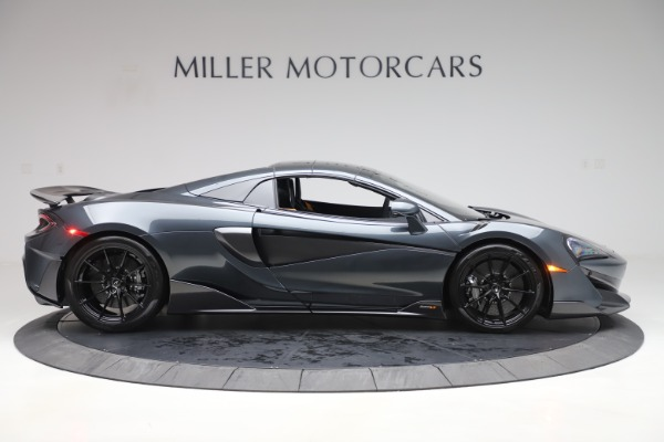 Used 2020 McLaren 600LT SPIDER Convertible for sale $249,900 at Pagani of Greenwich in Greenwich CT 06830 19