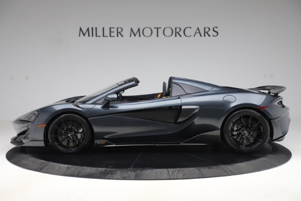 Used 2020 McLaren 600LT SPIDER Convertible for sale $249,900 at Pagani of Greenwich in Greenwich CT 06830 2
