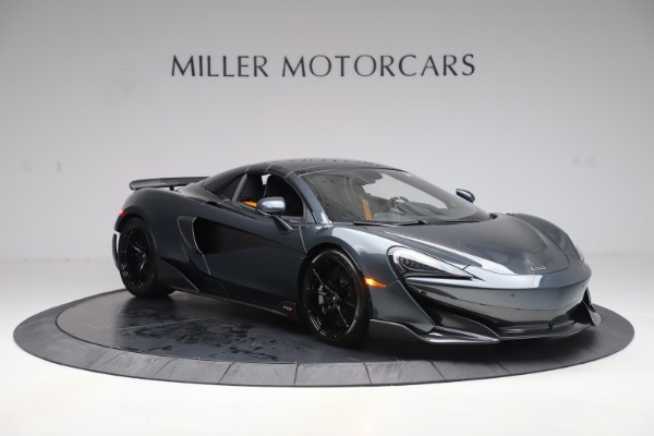Used 2020 McLaren 600LT SPIDER Convertible for sale $249,900 at Pagani of Greenwich in Greenwich CT 06830 20