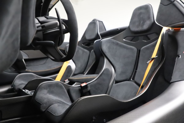 Used 2020 McLaren 600LT SPIDER Convertible for sale $249,900 at Pagani of Greenwich in Greenwich CT 06830 24