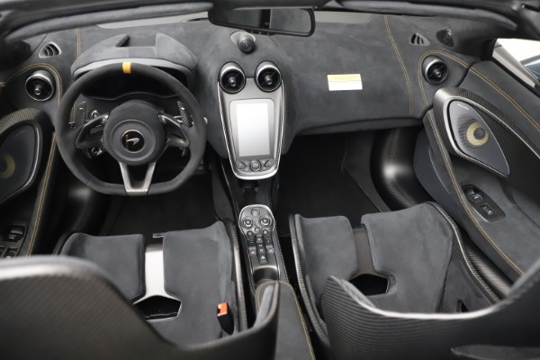 Used 2020 McLaren 600LT Spider for sale Sold at Pagani of Greenwich in Greenwich CT 06830 25