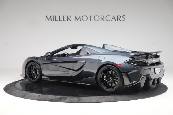 Used 2020 McLaren 600LT SPIDER Convertible for sale $249,900 at Pagani of Greenwich in Greenwich CT 06830 3