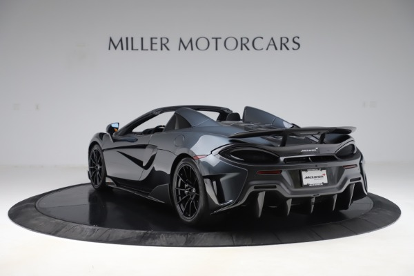 Used 2020 McLaren 600LT SPIDER Convertible for sale $249,900 at Pagani of Greenwich in Greenwich CT 06830 4