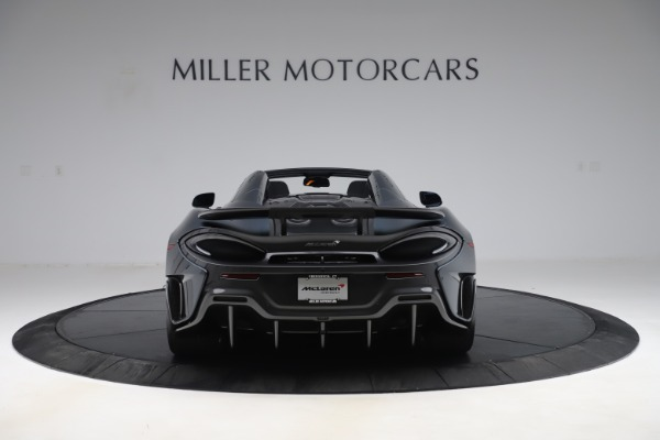 Used 2020 McLaren 600LT SPIDER Convertible for sale $249,900 at Pagani of Greenwich in Greenwich CT 06830 5