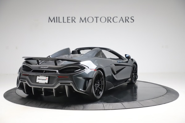 Used 2020 McLaren 600LT SPIDER Convertible for sale $249,900 at Pagani of Greenwich in Greenwich CT 06830 6