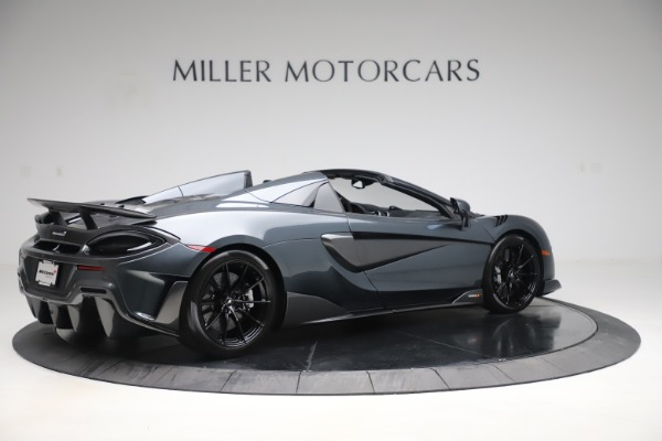 Used 2020 McLaren 600LT SPIDER Convertible for sale $249,900 at Pagani of Greenwich in Greenwich CT 06830 7