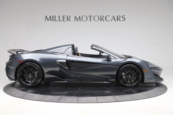 Used 2020 McLaren 600LT SPIDER Convertible for sale $249,900 at Pagani of Greenwich in Greenwich CT 06830 8