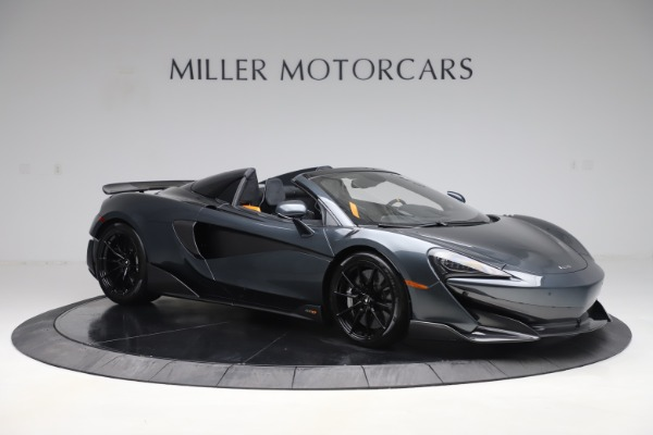 Used 2020 McLaren 600LT SPIDER Convertible for sale $249,900 at Pagani of Greenwich in Greenwich CT 06830 9