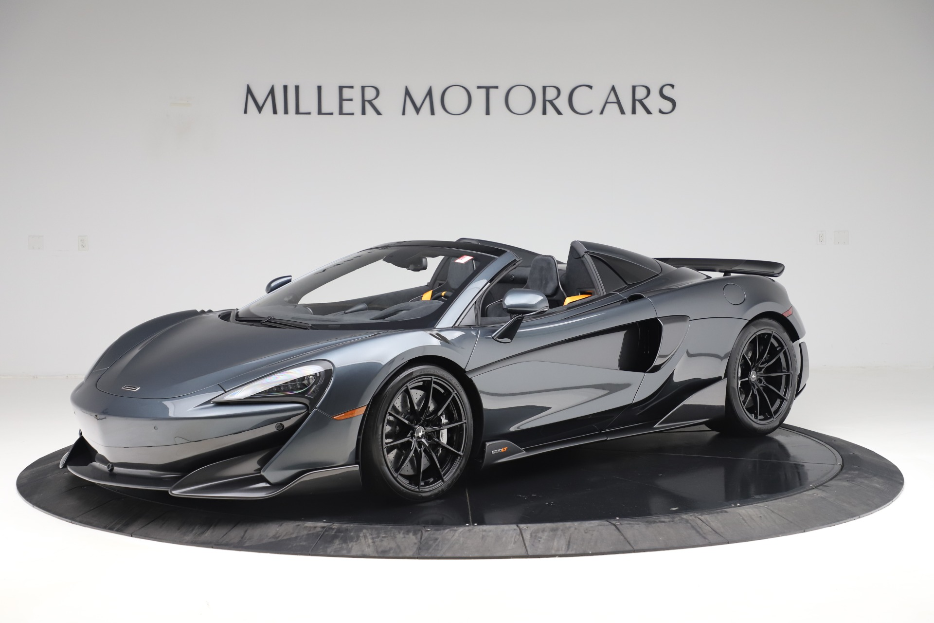 Used 2020 McLaren 600LT SPIDER Convertible for sale $249,900 at Pagani of Greenwich in Greenwich CT 06830 1