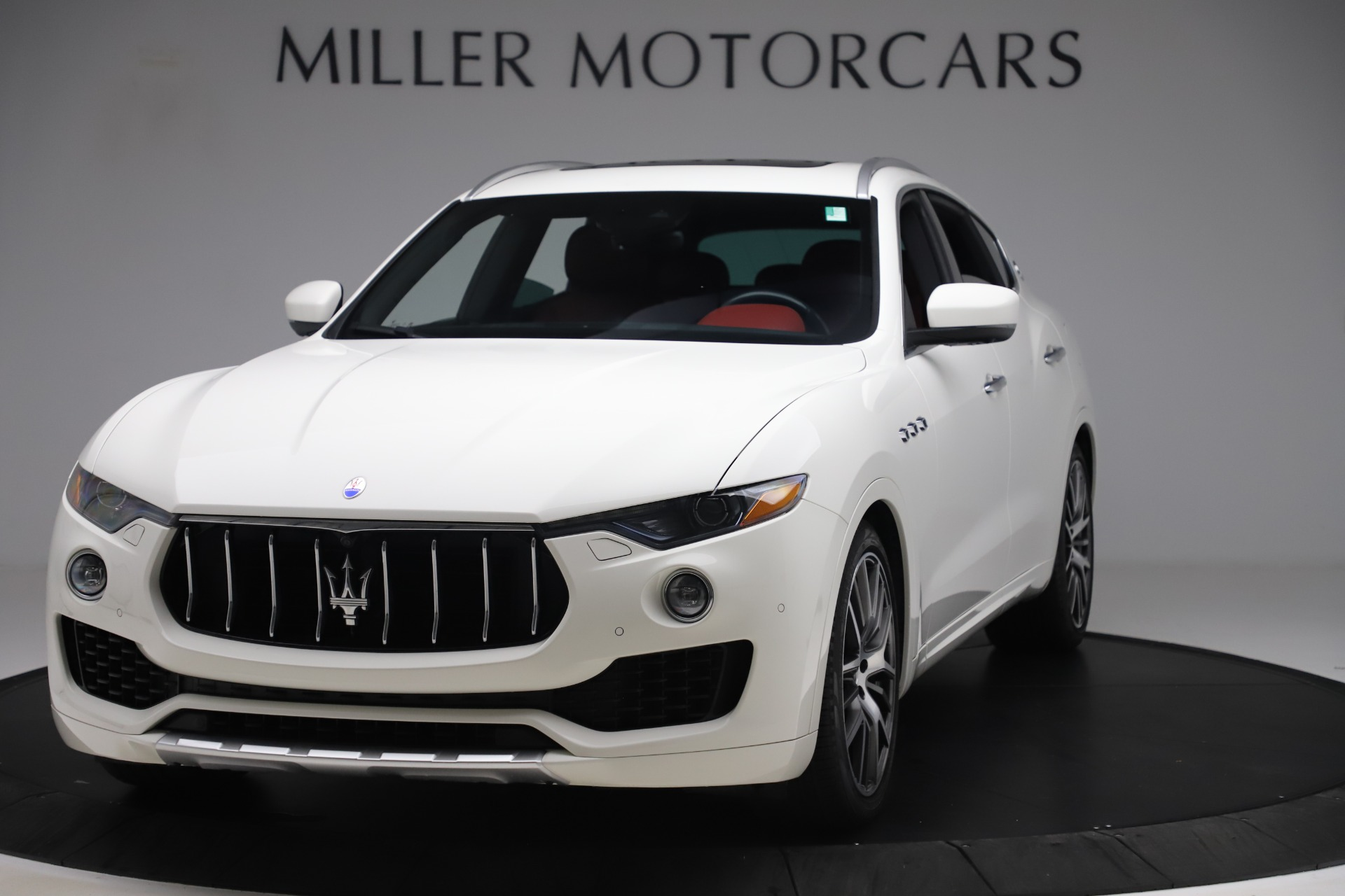 Used 2017 Maserati Levante S for sale Sold at Pagani of Greenwich in Greenwich CT 06830 1