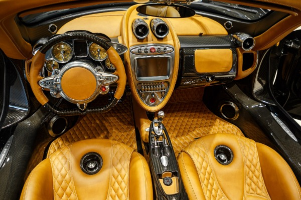 Used 2017 Pagani Huayra Roadster Roadster for sale Call for price at Pagani of Greenwich in Greenwich CT 06830 12