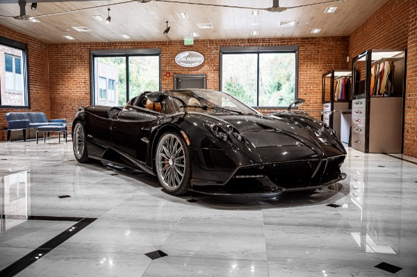 Used 2017 Pagani Huayra Roadster Roadster for sale Call for price at Pagani of Greenwich in Greenwich CT 06830 3
