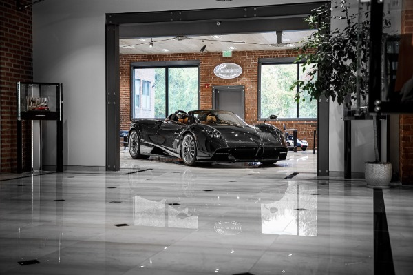 Used 2017 Pagani Huayra Roadster Roadster for sale Call for price at Pagani of Greenwich in Greenwich CT 06830 4