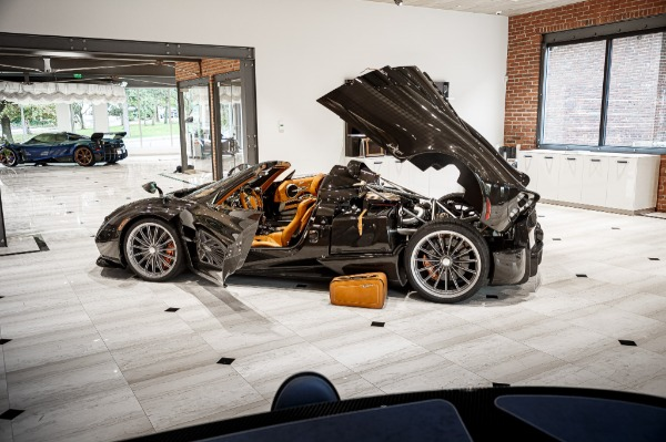 Used 2017 Pagani Huayra Roadster Roadster for sale Call for price at Pagani of Greenwich in Greenwich CT 06830 7