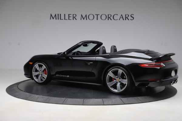 Used 2017 Porsche 911 Carrera 4S for sale Sold at Pagani of Greenwich in Greenwich CT 06830 4