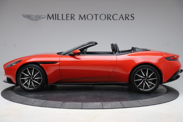 New 2020 Aston Martin DB11 Volante Convertible for sale $254,531 at Pagani of Greenwich in Greenwich CT 06830 2