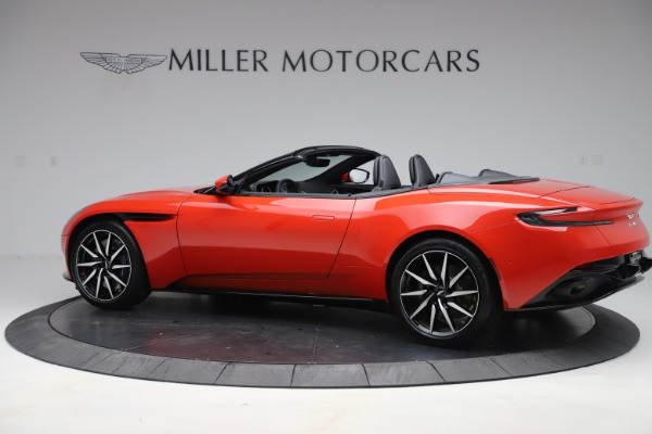 New 2020 Aston Martin DB11 Volante Convertible for sale $254,531 at Pagani of Greenwich in Greenwich CT 06830 3