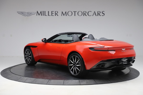 New 2020 Aston Martin DB11 Volante Convertible for sale $254,531 at Pagani of Greenwich in Greenwich CT 06830 4