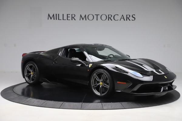 Used 2015 Ferrari 458 Speciale Aperta for sale Sold at Pagani of Greenwich in Greenwich CT 06830 18