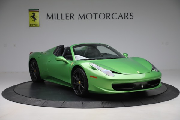 Used 2015 Ferrari 458 Spider for sale Sold at Pagani of Greenwich in Greenwich CT 06830 11