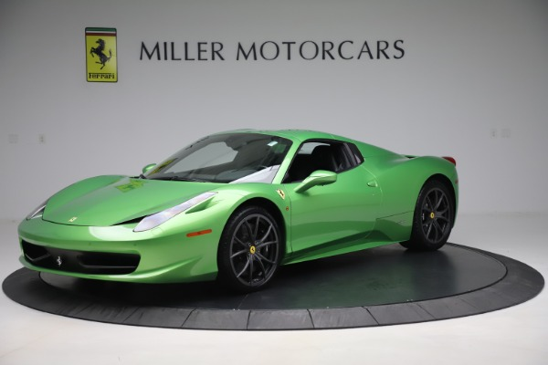 Used 2015 Ferrari 458 Spider for sale Sold at Pagani of Greenwich in Greenwich CT 06830 13