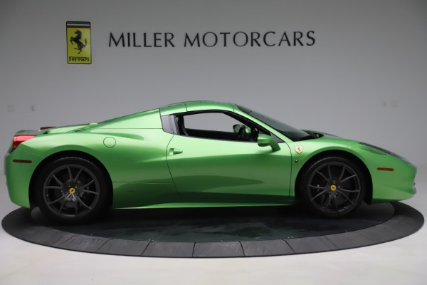 Used 2015 Ferrari 458 Spider for sale Sold at Pagani of Greenwich in Greenwich CT 06830 17