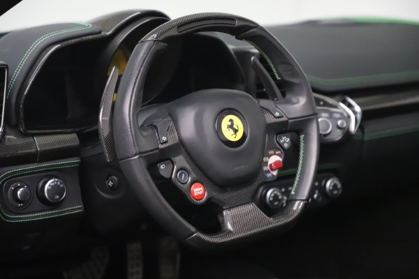 Used 2015 Ferrari 458 Spider for sale Sold at Pagani of Greenwich in Greenwich CT 06830 26