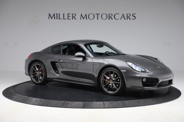 Used 2015 Porsche Cayman S for sale Sold at Pagani of Greenwich in Greenwich CT 06830 10