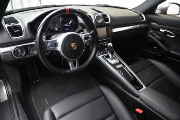 Used 2015 Porsche Cayman S for sale Sold at Pagani of Greenwich in Greenwich CT 06830 13