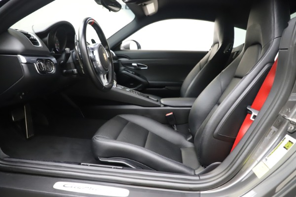 Used 2015 Porsche Cayman S for sale Sold at Pagani of Greenwich in Greenwich CT 06830 14