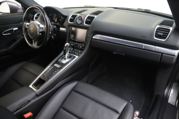 Used 2015 Porsche Cayman S for sale Sold at Pagani of Greenwich in Greenwich CT 06830 18