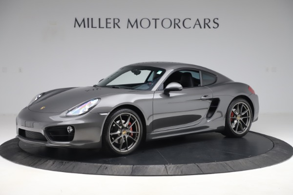 Used 2015 Porsche Cayman S for sale Sold at Pagani of Greenwich in Greenwich CT 06830 2