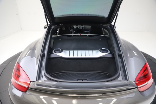 Used 2015 Porsche Cayman S for sale Sold at Pagani of Greenwich in Greenwich CT 06830 24