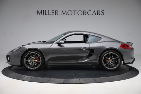 Used 2015 Porsche Cayman S for sale Sold at Pagani of Greenwich in Greenwich CT 06830 3