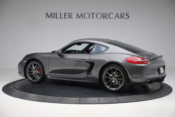 Used 2015 Porsche Cayman S for sale Sold at Pagani of Greenwich in Greenwich CT 06830 4
