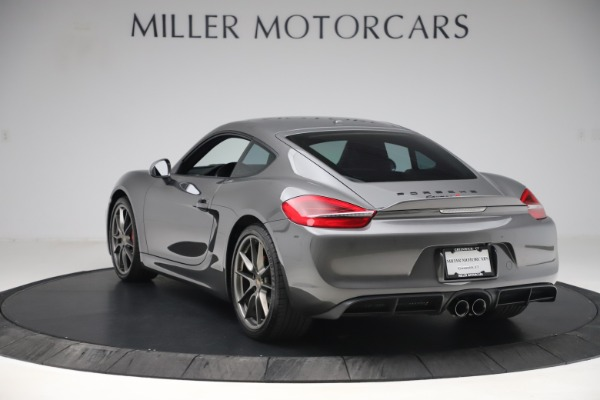 Used 2015 Porsche Cayman S for sale Sold at Pagani of Greenwich in Greenwich CT 06830 5