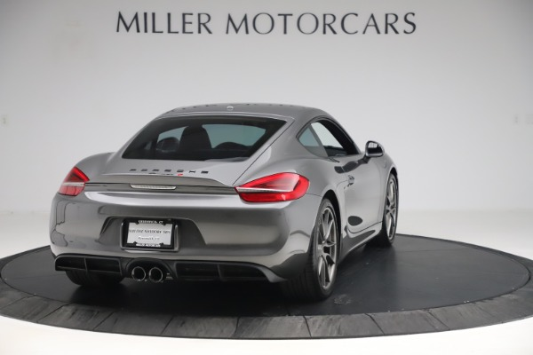 Used 2015 Porsche Cayman S for sale Sold at Pagani of Greenwich in Greenwich CT 06830 7
