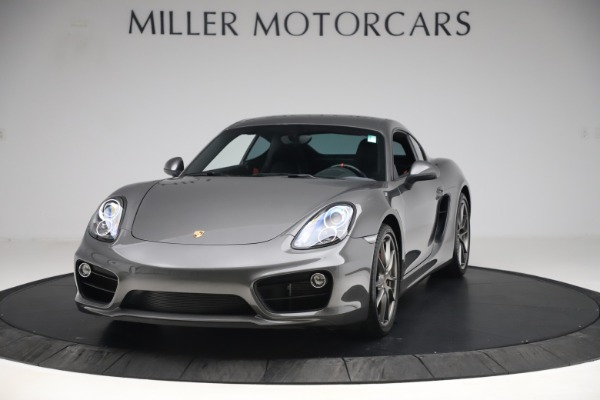 Used 2015 Porsche Cayman S for sale Sold at Pagani of Greenwich in Greenwich CT 06830 1