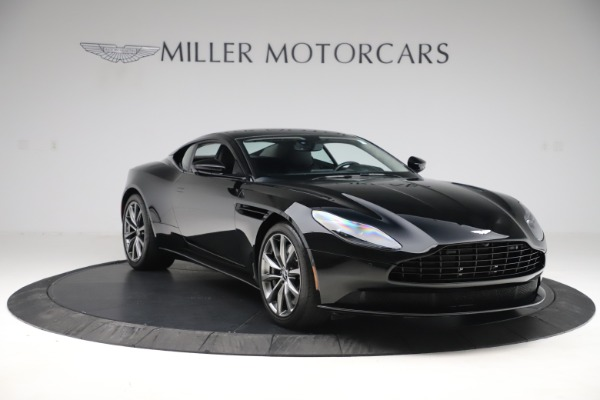 Used 2018 Aston Martin DB11 V8 for sale $139,900 at Pagani of Greenwich in Greenwich CT 06830 10