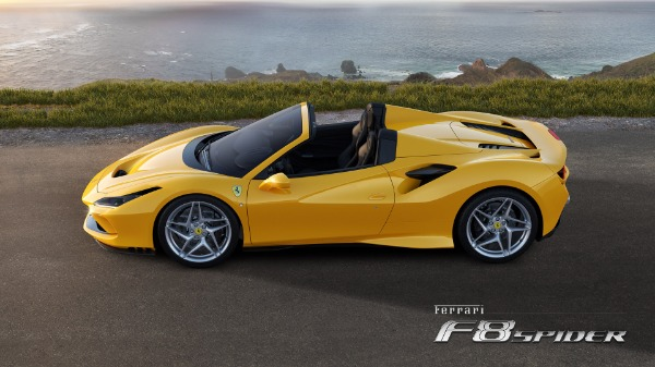 New 2021 Ferrari F8 Spider for sale Call for price at Pagani of Greenwich in Greenwich CT 06830 2