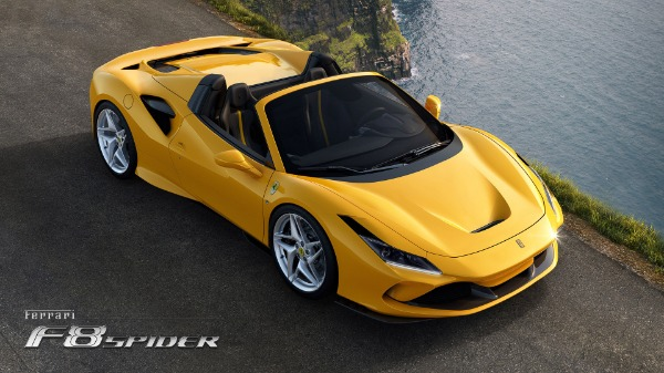 New 2021 Ferrari F8 Spider for sale Call for price at Pagani of Greenwich in Greenwich CT 06830 3