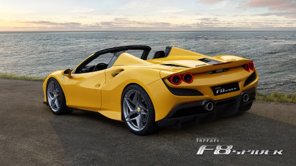 New 2021 Ferrari F8 Spider for sale Call for price at Pagani of Greenwich in Greenwich CT 06830 4