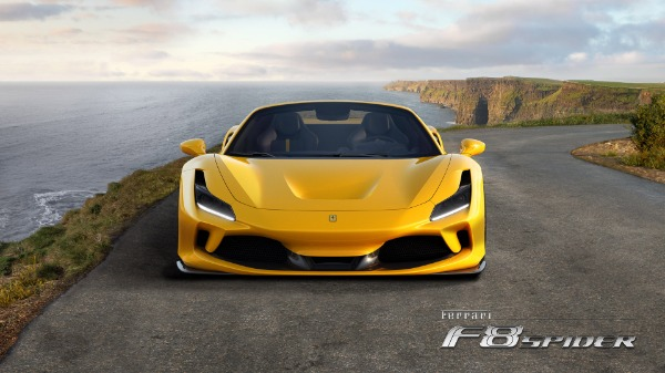 New 2021 Ferrari F8 Spider for sale Call for price at Pagani of Greenwich in Greenwich CT 06830 5