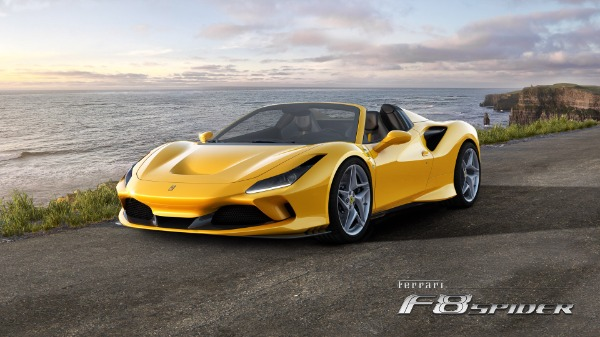 New 2021 Ferrari F8 Spider for sale Call for price at Pagani of Greenwich in Greenwich CT 06830 1