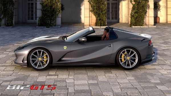 New 2021 Ferrari 812GTS for sale Call for price at Pagani of Greenwich in Greenwich CT 06830 3