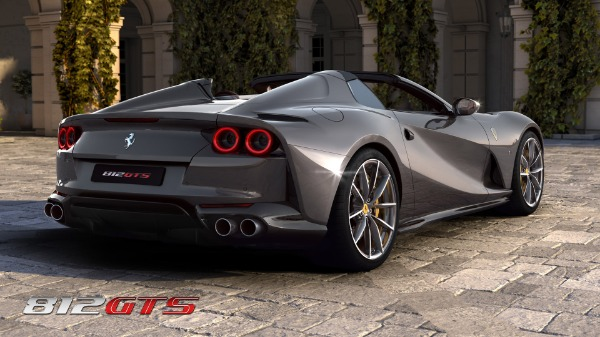 New 2021 Ferrari 812GTS for sale Call for price at Pagani of Greenwich in Greenwich CT 06830 5