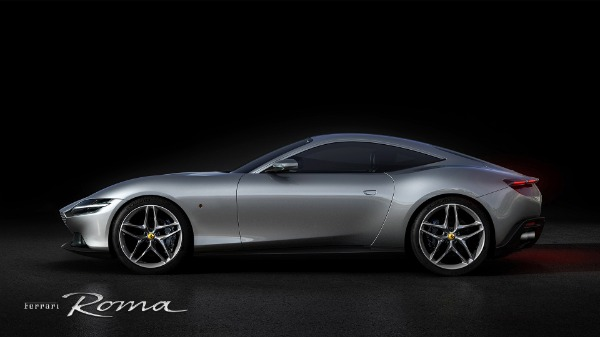 New 2021 Ferrari Roma for sale Call for price at Pagani of Greenwich in Greenwich CT 06830 2